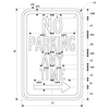NO PARKING ANYTIME SKU# X-SIGN-R7 DIMENSIONS RIGHT ARROW