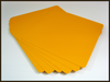 """Sign Blank Aluminum 12"""" x 12"""" Safety Yellow (2nd's)"""