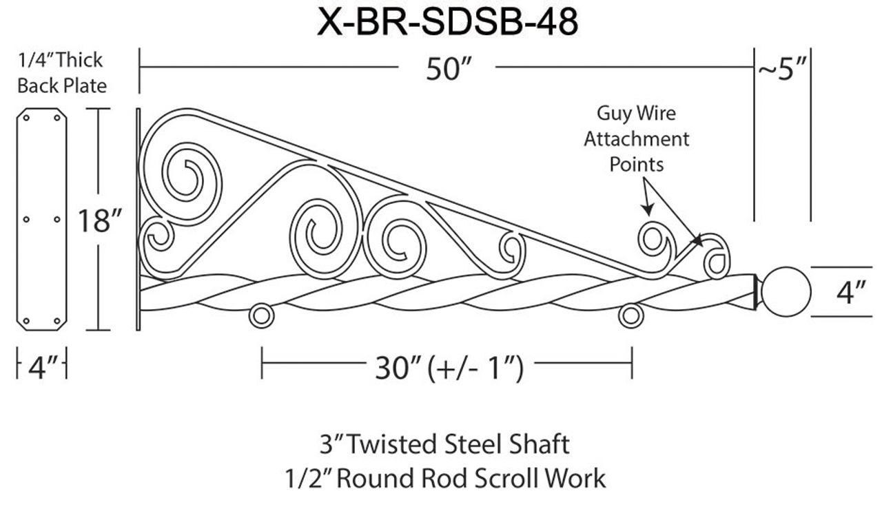 X-BR-SDSB-48 STEEL