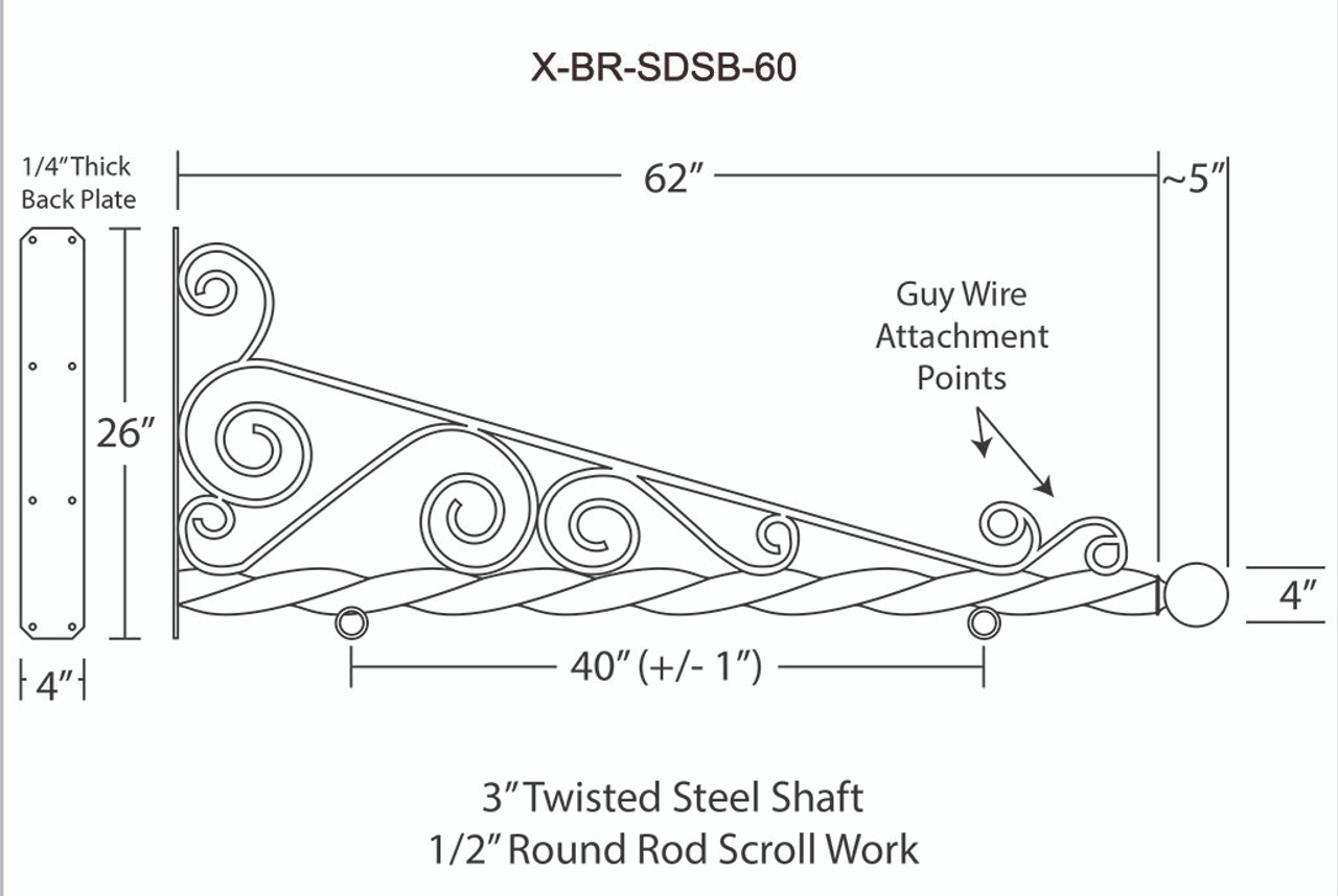 X-BR-SDSB-60 STEEL