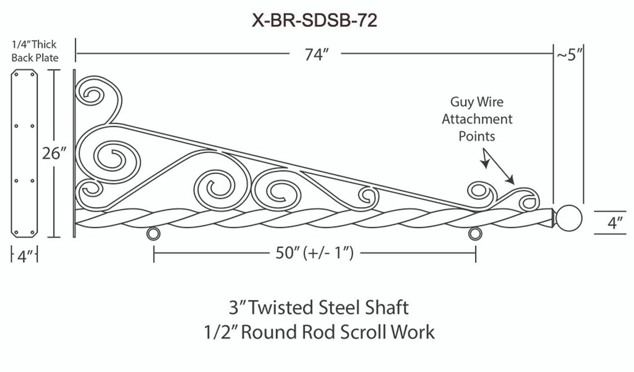X-BR-SDSB-72 STEEL