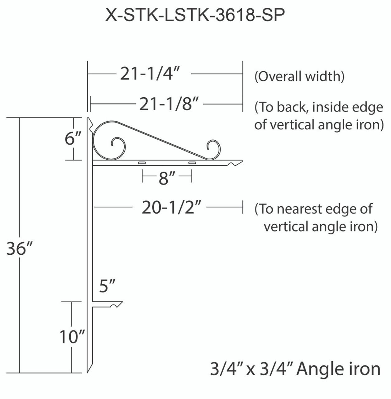 X-STK-LSTK-3618-SP
