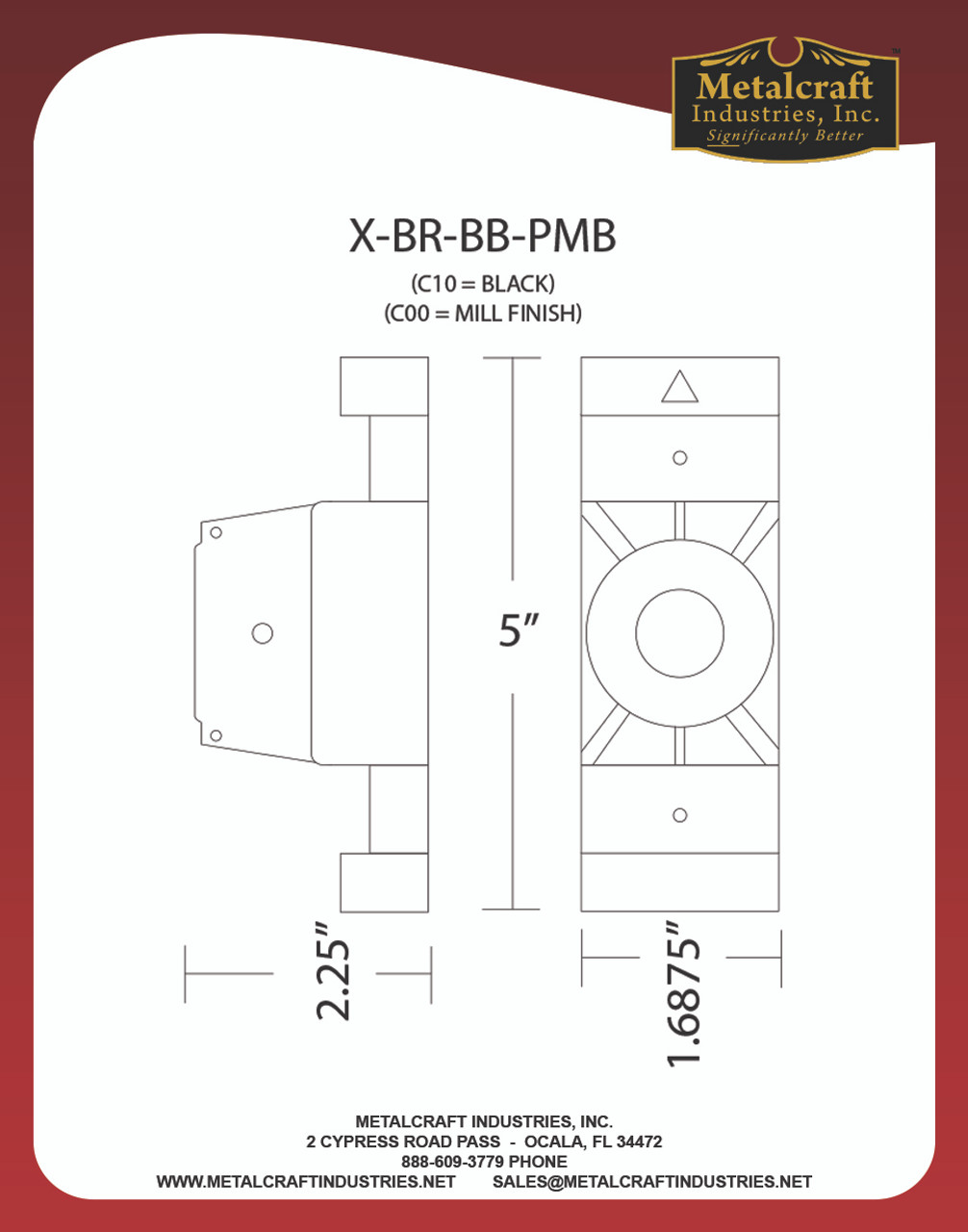 POLE MOUNT SPECIFICATION