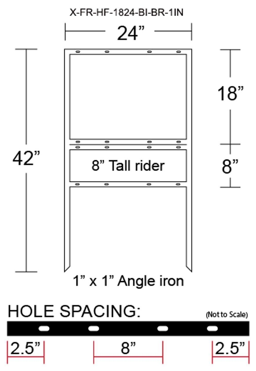 X-FR-HF-1824-BI-BR-1IN