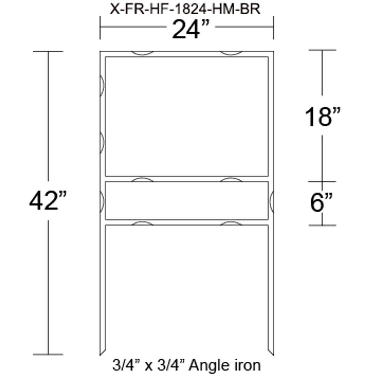 X-FR-HF-1824-HM-BR
