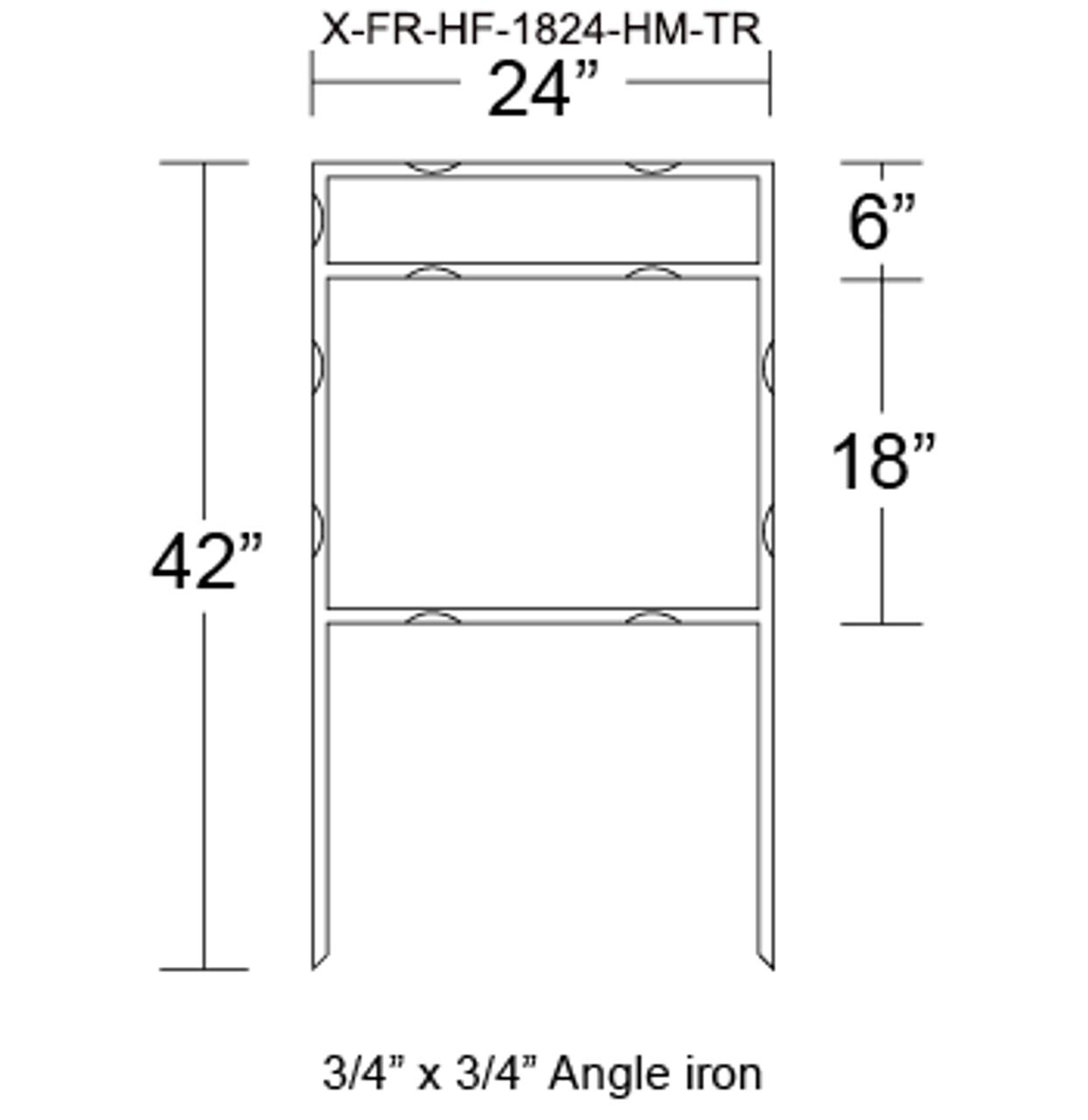 X-FR-HF-1824-HM-TR