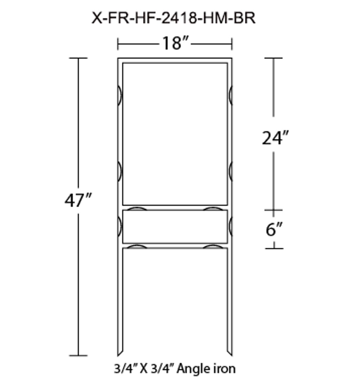 X-FR-HF-2418-HM-BR