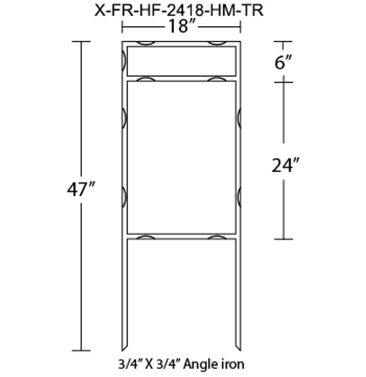 X-FR-HF-2418-HM-TR
