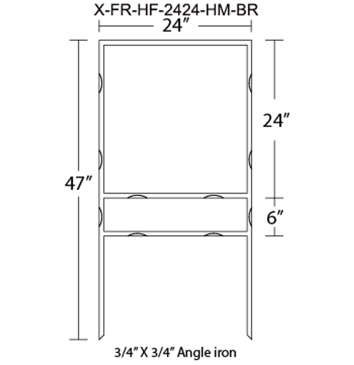 X-FR-HF-2424-HM-BR