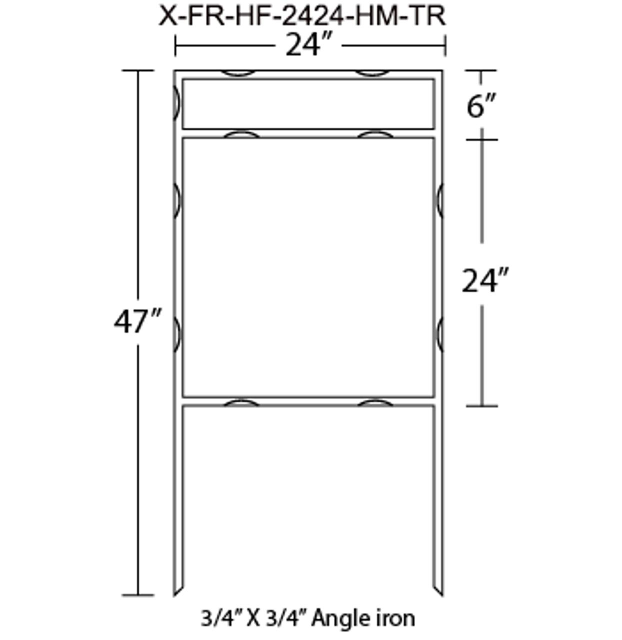 X-FR-HF-2424-HM-TR