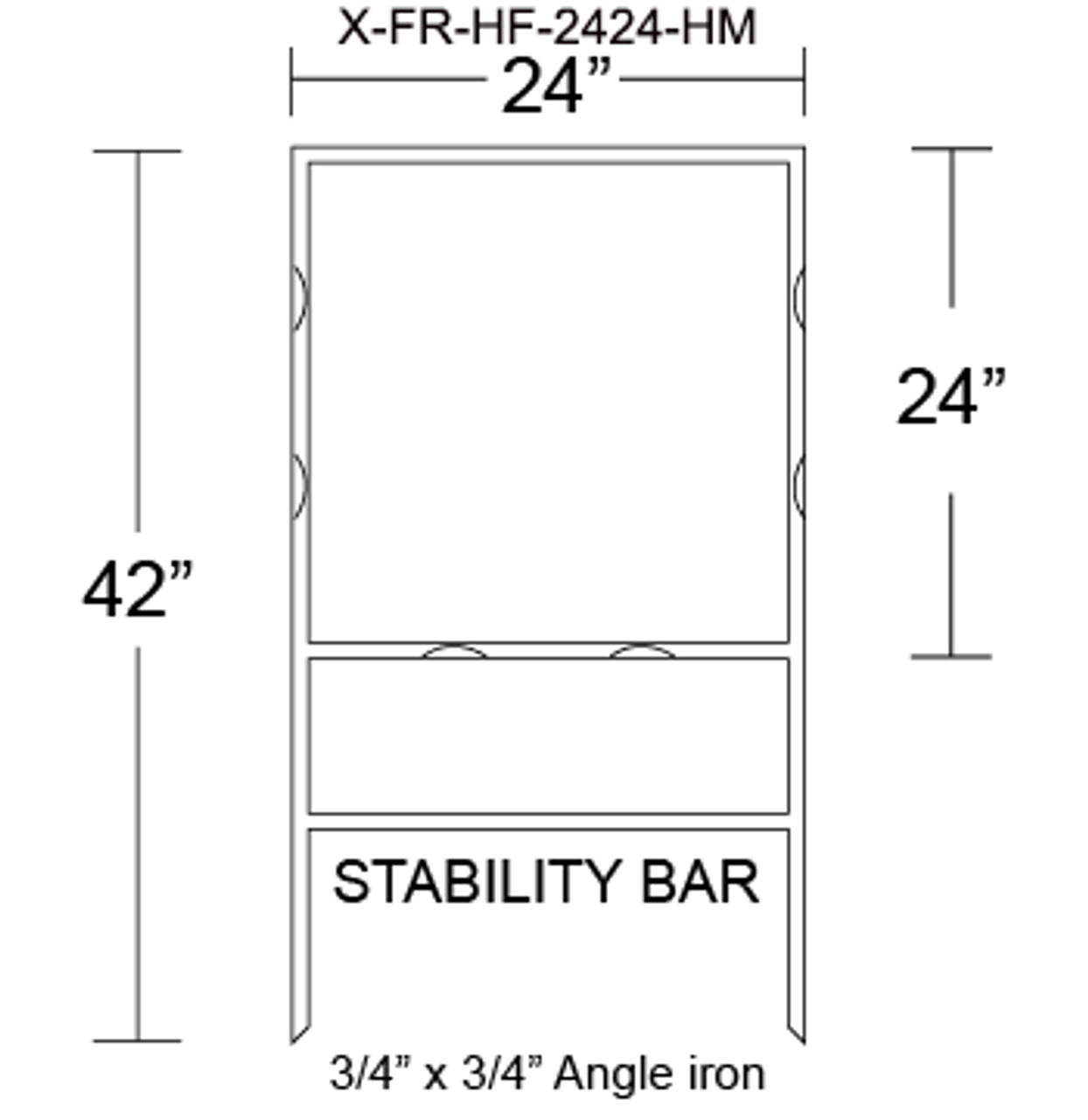 X-FR-HF-2424-HM