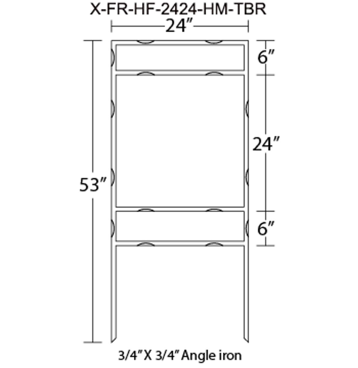 X-FR-HF-2424-HM-TBR