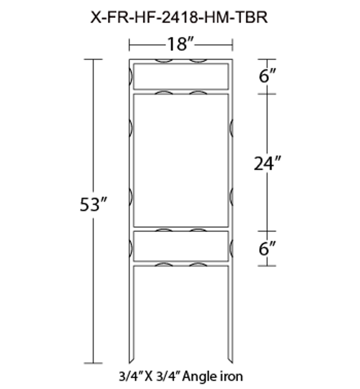 X-FR-HF-2418-HM-TBR