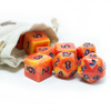 Humblewood: Alderheart Ember Dice + Pouch