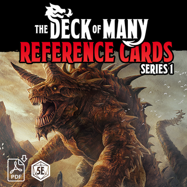 The Deck of Many Series 1 PDF