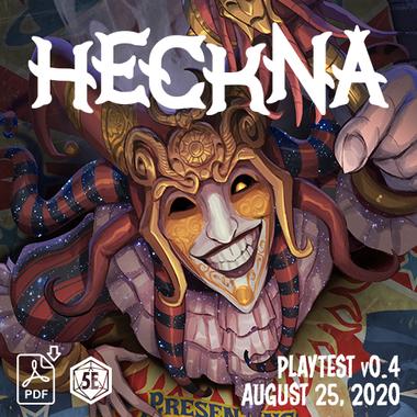 Heckna! Playtest v0.4 (PDF)