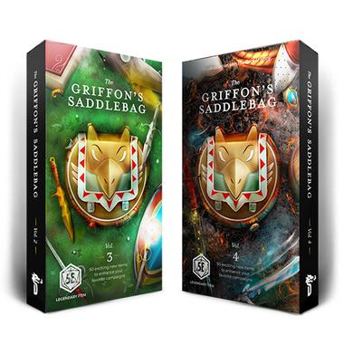 Bundle: The Griffon's Saddlebag Vol 3 & 4