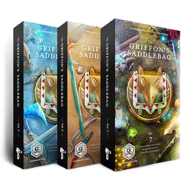 Bundle: The Griffon's Saddlebag Vol 5, 6 & 7