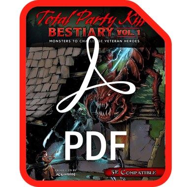 Total Party Kill: Bestiary Vol. 1 (PDF)
