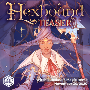 Hexbound Teaser v2: An Introduction to Witchcraft (PDF)