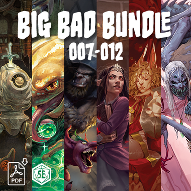 Big Bad Bundle (007-012) (PDF)
