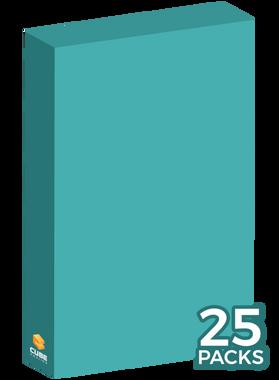 Cyan Cubeamajigs 25 Set