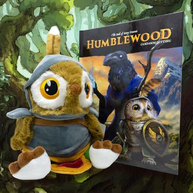 Bundle: Humblewood Campaign Setting Book + Riffin Plush Toy