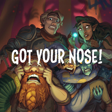 Heckna! Minis - Got Your Nose (PREORDER)