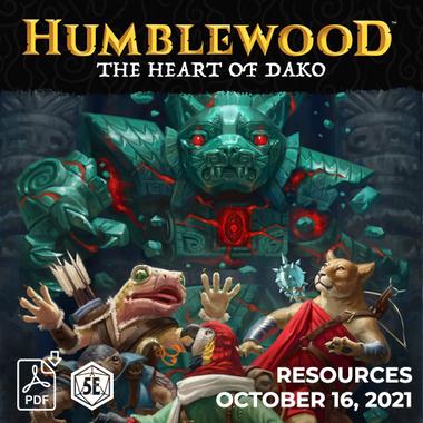 Humblewood: The Heart of Dako Resource Pack (PDF)