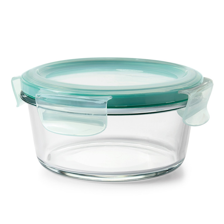 Smart Seal Glass Round Container 400ml