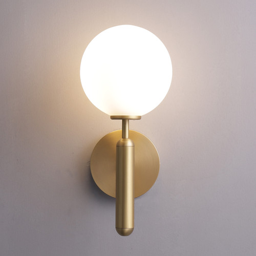 Saturn Wall Sconce Brass