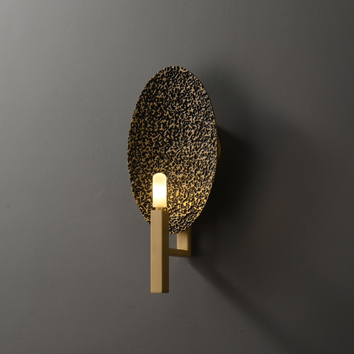 Candle  Wall Sconce Brass