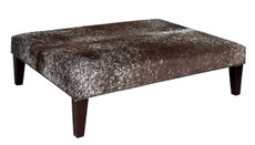 4ft x 3ft Cowhide Footstool FST956