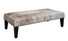 4ft x 2ft Cowhide Footstool FST937