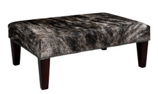 3ft x 2ft Cowhide Footstool FST924
