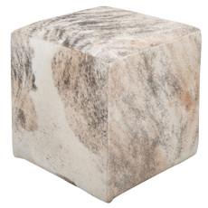 brindle cowhide cube