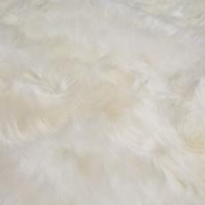 White Quad Sheepskin Rug (215 x 110 cm)