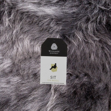 Mid Grey Double Sheepskin Rug