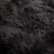 Dark Grey Double Sheepskin Rug