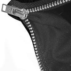 White & Brown Cowhide purse