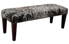 4ft x 1.5ft Cowhide Footstool / Ottoman FST609