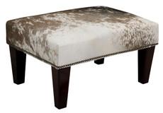 2ft x 1.5ft Cowhide Footstool / Ottoman FST602