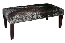 4ft x 2ft Cowhide Footstool / Ottoman FST114