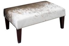 3ft x 2ft Cowhide Footstool / Ottoman FST975