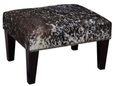 2ft x 1.5ft Cowhide Footstool / Ottoman FST760