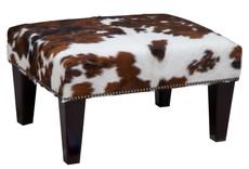 2ft x 1.5ft Cowhide Footstool / Ottoman FST009-21