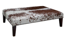 4ft x 3ft Cowhide Footstool FST750