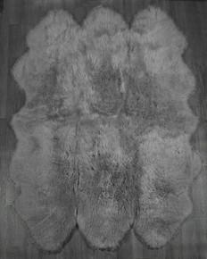 Silver Grey Sexto Sheepskin Rug