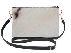 Large Cowhide Shoulder Bag