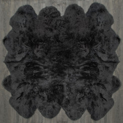 Slate Grey Octo Sheepskin Rug